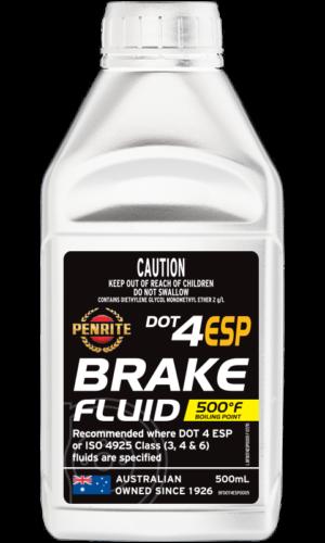 BRAKE FLUID DOT 4 ESP