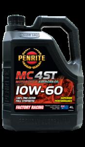 MC4-ST 10W-60 (100% PAO ESTER)